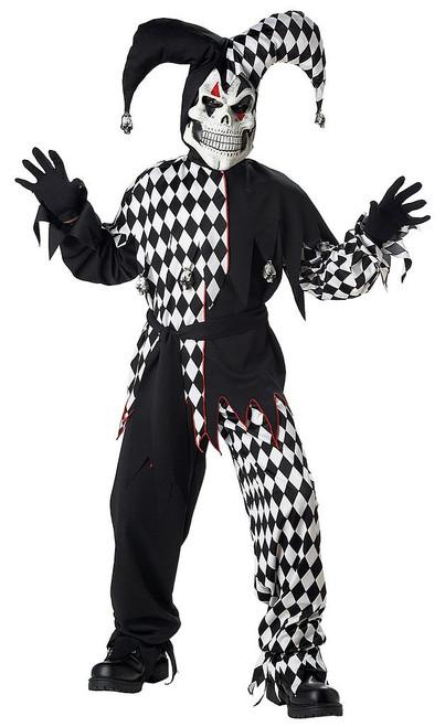 Children's Evil Jester Costume