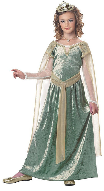 Queen Quinevere Girl Costume