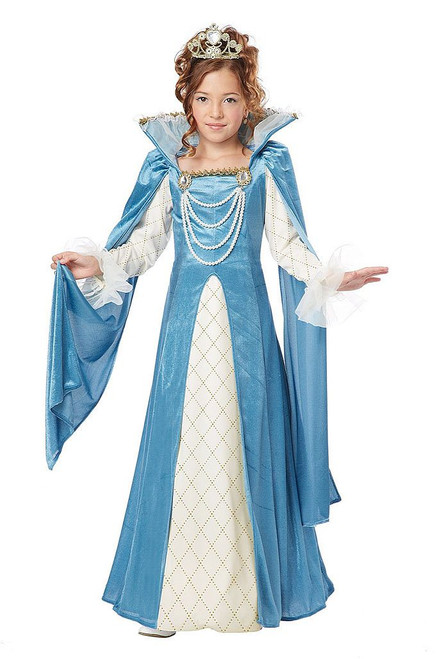 Renaissance Queen Girl Costume