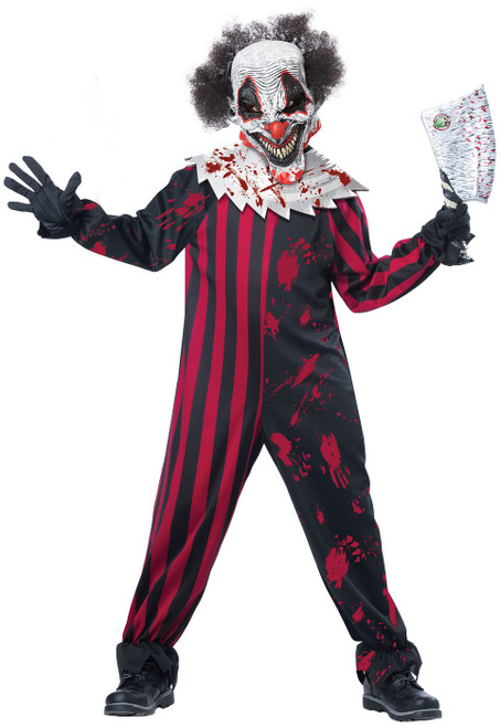 Killer Clown Costume Child