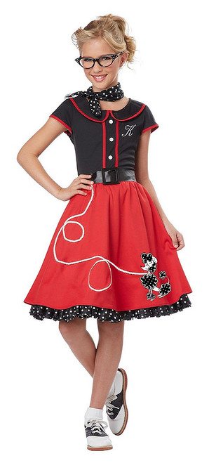 50's Sweetheart Girl Costume