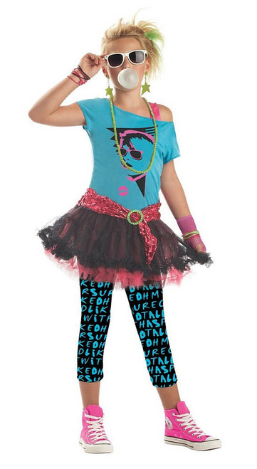 80's Valley Girl Tween Costume