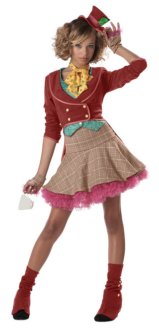 Girls The Mad Hatter Costume