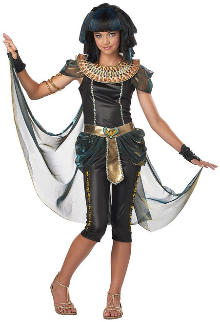 Dark Cleopatra Costume Child