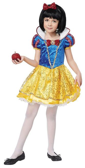 Snow White Deluxe Girls Costume