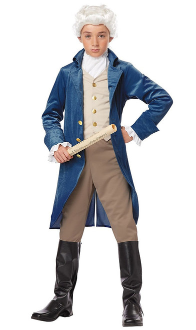 Child Colonial Man Costume
