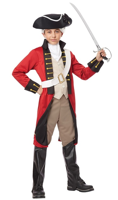 British Redcoat Child Costume