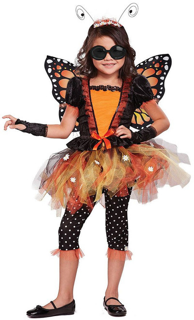 Monarch Butterfly Girl Costume