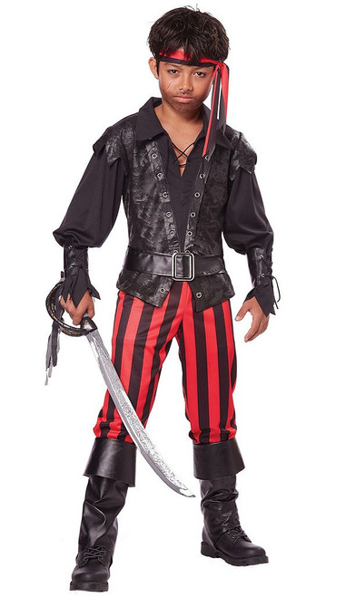 Buccaneer Boy Pirate Costume