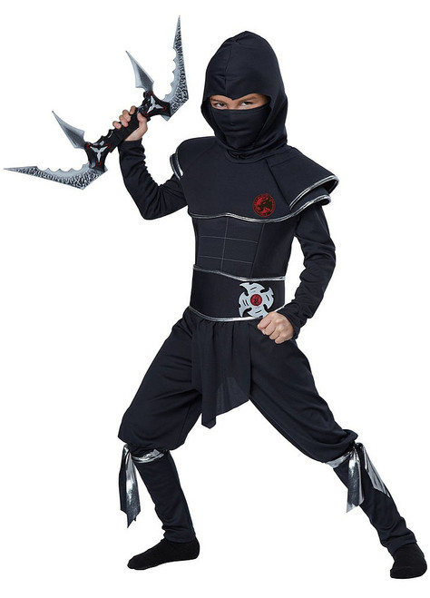 Ninja Warrior Kid Costume