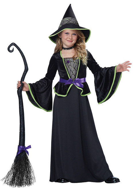 Classic Witch Costume Girl