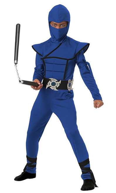 Stealth Blue Ninja Costume