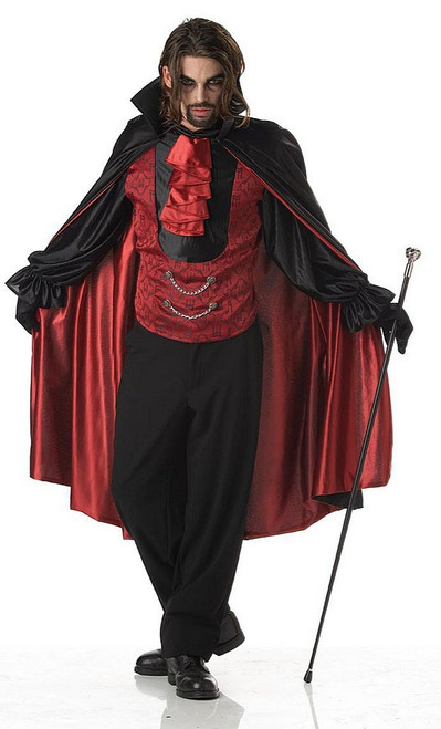 Bloodthirsty Men Vampire Costume