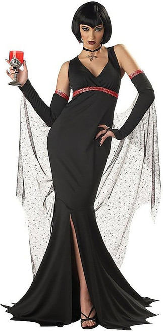 Seductress Women Vampire Costume