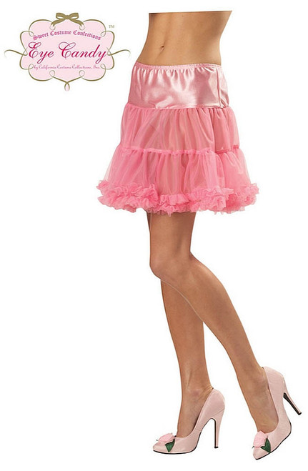 Ruffled Pettiskirt Pink Adult
