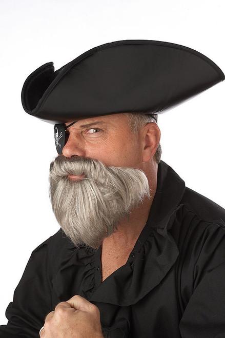 Captain Beard/Moustache Grey