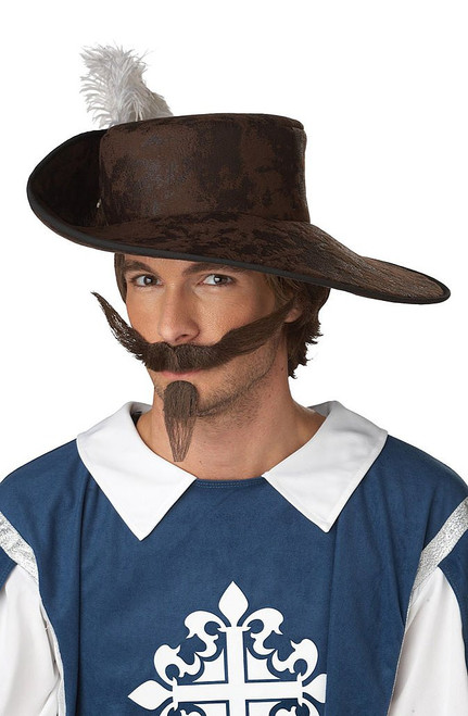 Musketeer Moustache & Patch