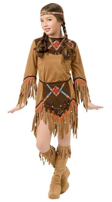 White Dove Indian Girl Costume