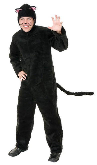 Plush Cat Adult Costume
