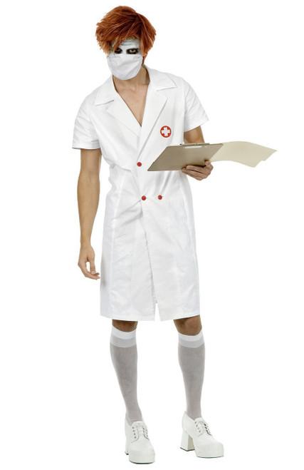 Joker Twisted Nurse Batman The Dark Knight Costume