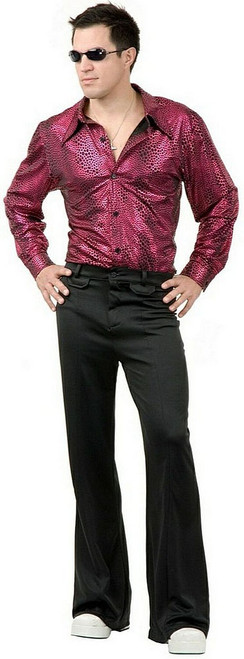 Red Disco Shirt Costume