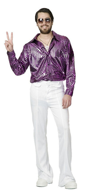 Disco Shirt Psychedelic Swirl