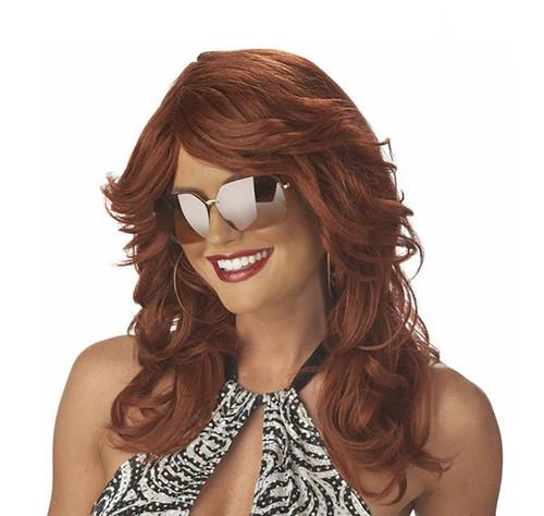 Discorama Mama Auburn Wig
