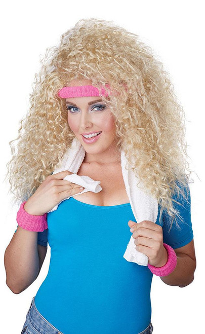 80's Let's Get Physical Wig