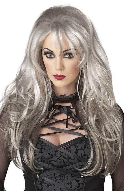 Fallen Angel Grey Wig