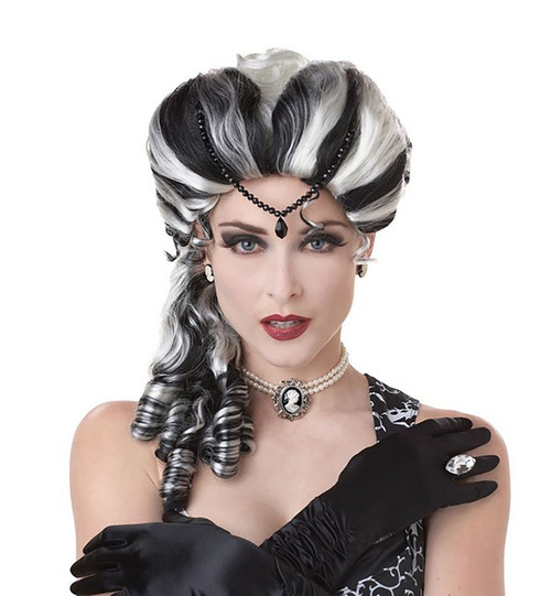Victorian With Side Curls Wig