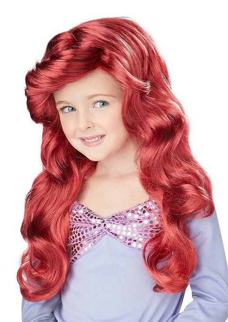 Little Mermaid Child Wig