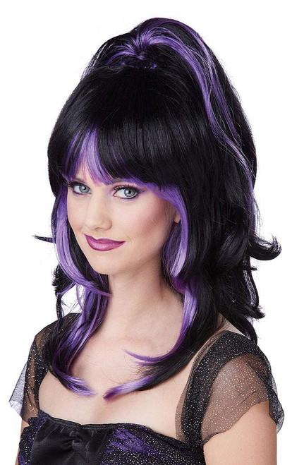 Sugar and Spice Purple Wig