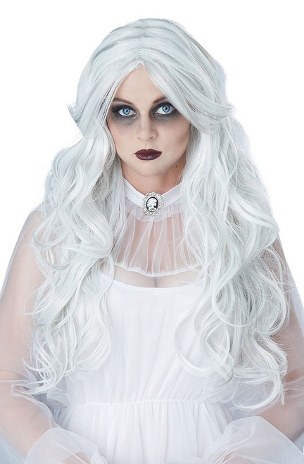 Supernatural White Ghost Wig