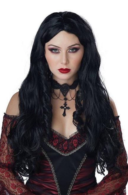 Gothique en Noire Black Wig