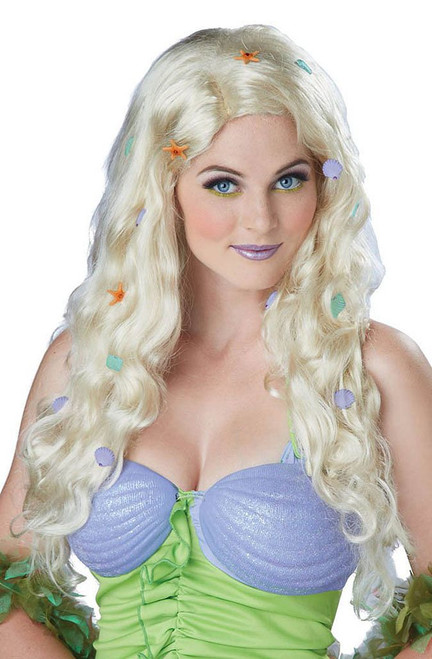 Fantasy Mermaid Blonde Wig