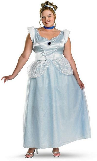 Plus Cinderella Princess Costume