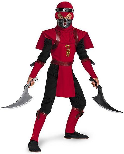Red Viper Ninja Deluxe Costume