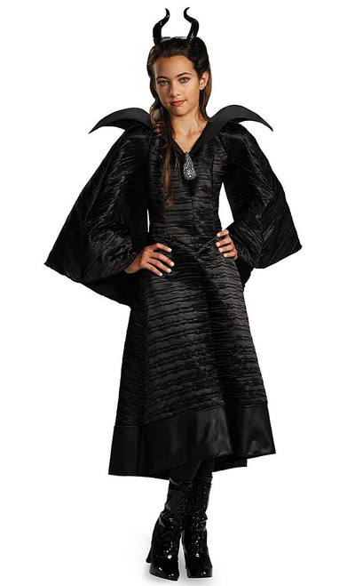 Girls Maleficent Christening Gown Deluxe