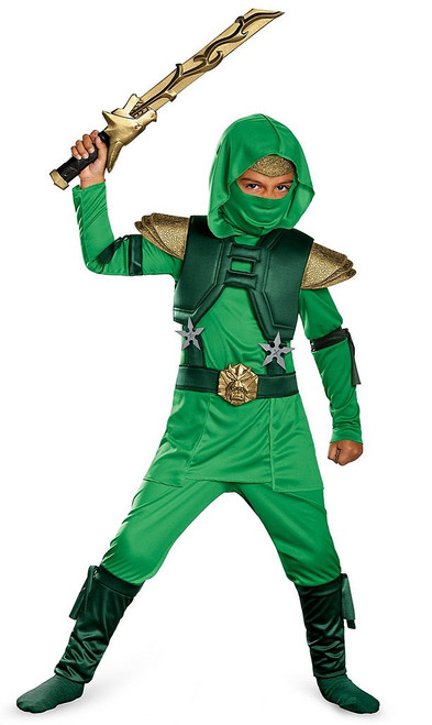 Children's Green Master Ninja