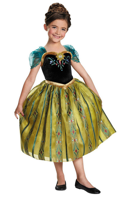Frozen Anna Coronation Gown Deluxe Costume