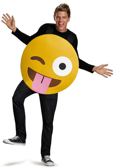 Emoticons Tongue Out Costume