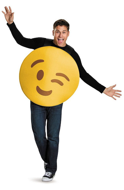Emoticons Wink Adult Costume