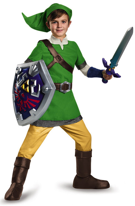Zelda Link  Child Costume