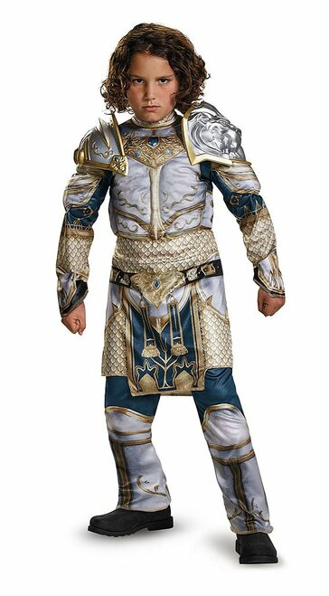 Medieval Classic White Armor Child Costume