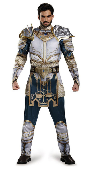 Medieval White Armor Adult Costume