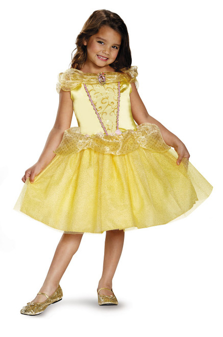 Princess Girls Belle Costume