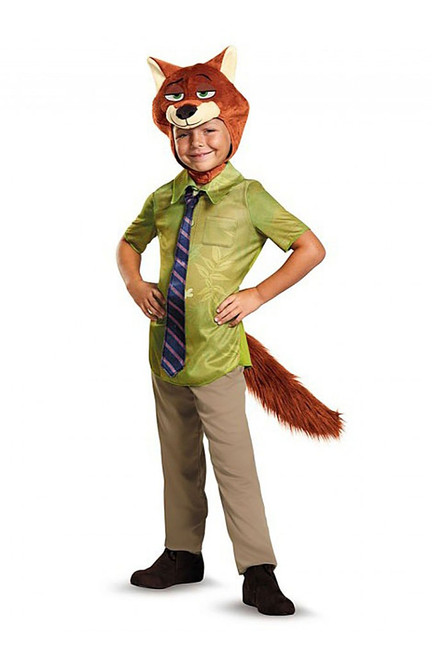 Zootopia Nick Fox Wilde Costume