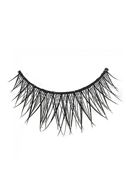 Cross Lashes with Glitter