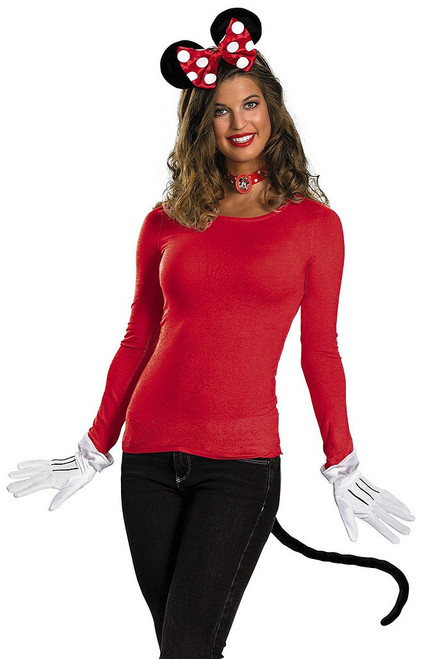 Red Minnie Mouse Adult Kit