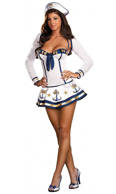 Making Waves Sailor Halloween Costume
